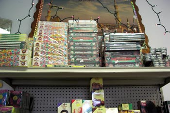 We carry a full line of incense and devotional items. Always in stock.